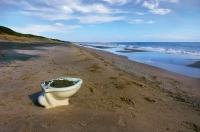wc con vista mare